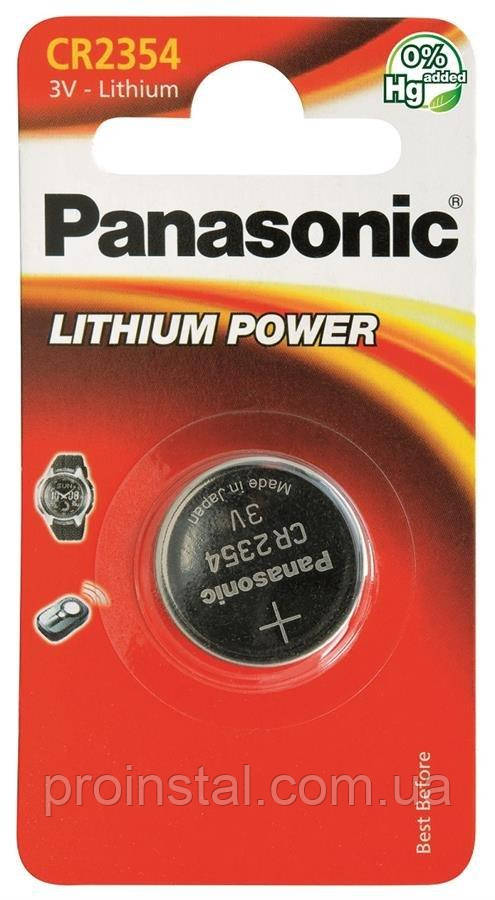 Батарейка Panasonic литиевая CR2354 блистер, 1 шт.