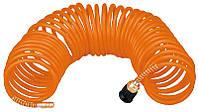 Акция! Шланг высокого давления спиральный TOPEX, 5 x 8 мм, 8 бар, 5м (75M680) [Скидка 3%, при условии 100% предоплаты!]