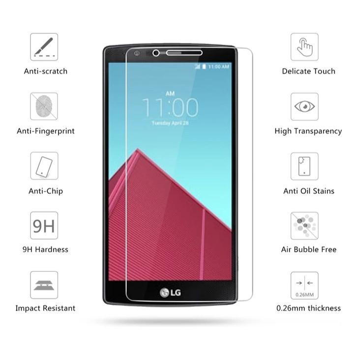 Загартоване захисне скло на LG H818