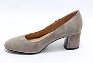 Светлые замшевые туфли Berloni 166, фото 2