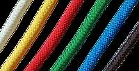 Канат полипропиленовый 8мм красный U, METALVIS Украина [91CTV0091004008040]