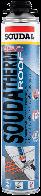 Пена для утепления Soudatherm ROOF 250 800мл. для пистолета, SOUDAL Бельгия [000010000000800TER]