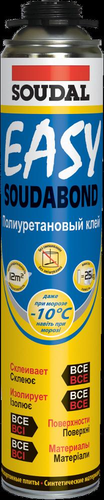 Пена-клей зимняя Soudabond Easy GU750мл. для пистолета, SOUDAL Бельгия [000010000000802EWB]