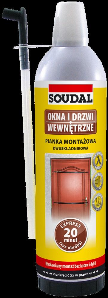 Пена двухкомпонентная Soudafoam 2k 400мл., SOUDAL Бельгия [000010000004002K00]