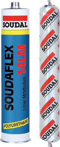 Герметик полиуретановый SOUDAFLEX 14LM белый 600мл., SOUDAL Бельгия [000020000000070601]