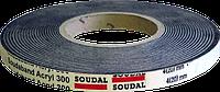 Лента монтажная ПСУС 15мм 3/15 8м Soudaband Acr.T80, SOUDAL Бельгия [0000400000SA031515]