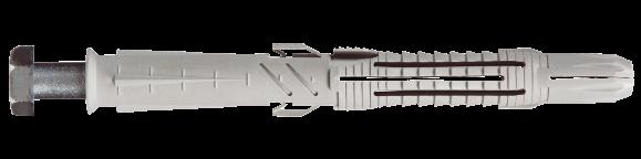 T88-H Анкер 12х185/115 нейлоновый с винтом и шестигранной головкой, METALVIS Украина [92A20000092A2X2A9T]