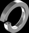 Гост6402 Шайба 12 пруж цинк(белый) Н s3,0 кг. Шайба пружинная (гровер) [7P20000007P12200HK]