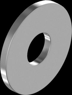 DIN9021 Шайба 5 увеличеная, цинк белый, (КИЛОГРАМ), METALVIS Украина [7N20000007N0520001]