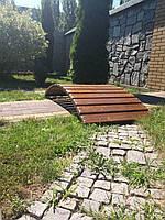 Мостик садовый декоративный  МС-6 без былец 1,65м