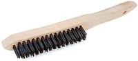 Щетка проволочная 280мм деревянная ручка, ONSITE Китай [INSTNTNDR280000WO0]