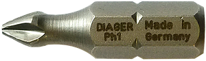 Бита крестообразная PH2 150мм, Diager Франция [96SD0096SDPH2L1500]