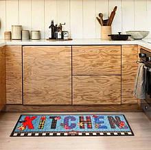 Коврик для кухни COOKY BUTTERFLY KITCHEN 50*125 см. (306CYBTKT3130)