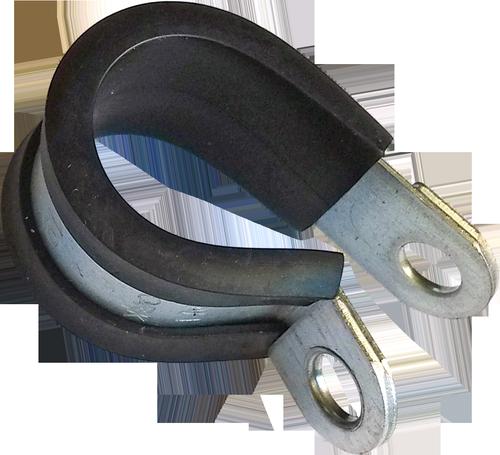 R-Хомут d15 обжимной W1 сталь, цинк белый, DIN3016-1, METALVIS Украина [937000000937R01500]