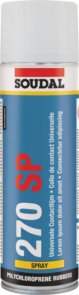 Клей контактный 270SP 500мл., SOUDAL Бельгия [0000900000001270SP]