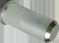 RSgr-Гайка М6/0, 5-3 клепальная, потайная головка, закрита рифлена ., METALVIS Украина [97M3000097M10630PZ]