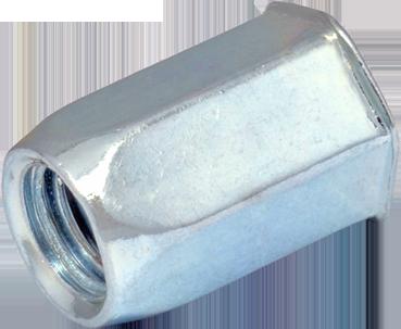 RSH-Гайка М10/3.5-6 клепальна, шестигранная головка, уменьшенная, потайная головка, S13., METALVIS Украина [97M1H97M11060S130H]