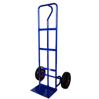 Тачка складская2-х колесная для перевозки грузов на пневматических колесах(200 кг)