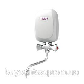 Водонагреватель Tesy проточный 3,5 кВт со смесителем IWH 35 X01 KI