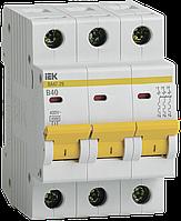 Автоматический выключатель ВА47-29 3Р 40А 4,5кА В, ИЕК [MVA20-3-040-B]