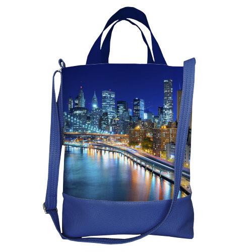 Городская сумка City Ночной город (SCB_14A085_SI)