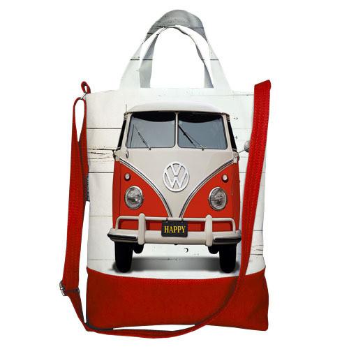 Городская сумка City Volkswagen red (SCB_14S012_KR)
