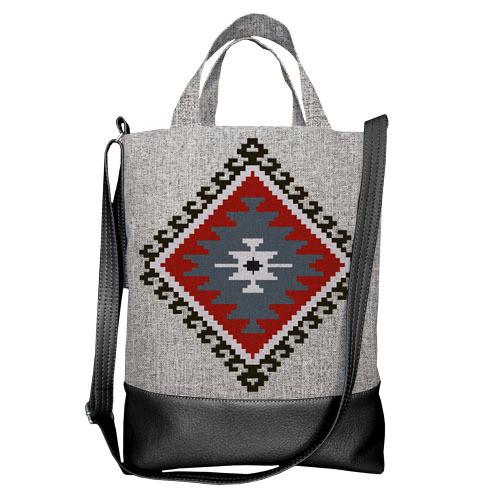 Городская сумка City Этно орнамент (SCB_14S028_BL)