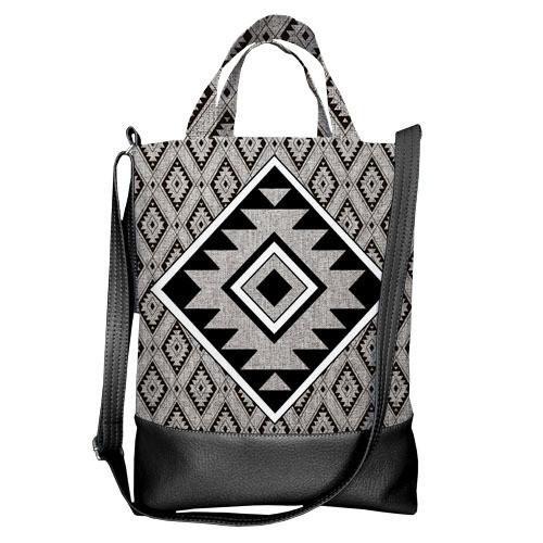 Городская сумка City Этно орнамент (SCB_14S031_BL)