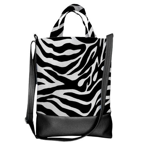 Городская сумка City Окрас зебры (SCB_14S065_BL)