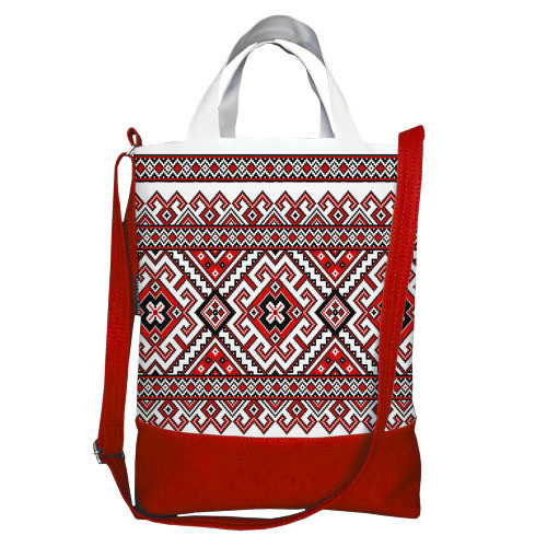 Городская сумка City Украинский орнамент (SCB_15UKR016_KR)