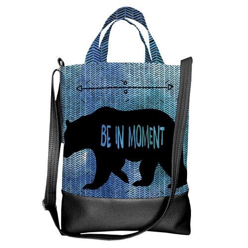 Городская сумка City Be in moment (SCB_16A076_BL)