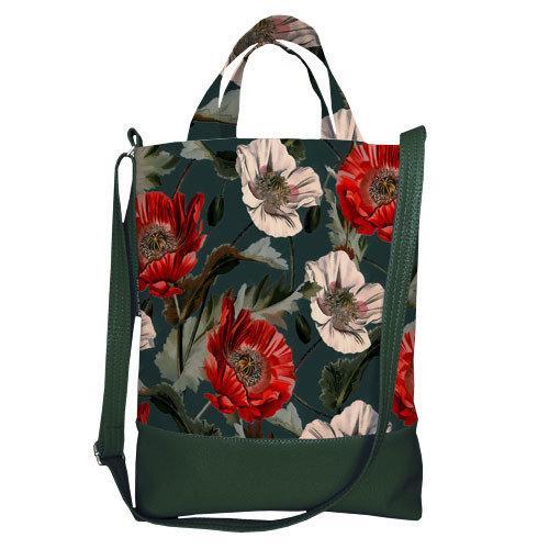 Городская сумка City Цветы (SCB_FFL012_TZE)