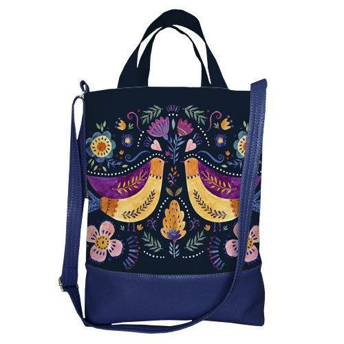 Городская сумка City Птички (SCB_FFL013_TSI)