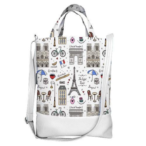 Городская сумка City Париж (SCB_ILI010_WH)