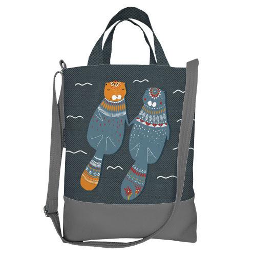 Городская сумка City Бобры (SCB_LP017_SE)