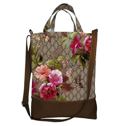 Городская сумка City Цветочное настроение (SCB_TFL004_TBR)