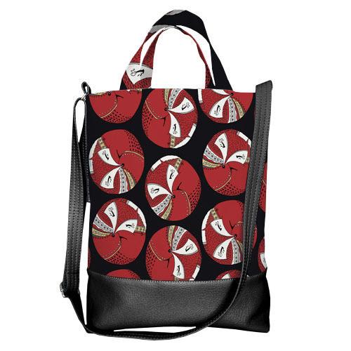 Городская сумка City Лиса (SCB_TFL020_BL)
