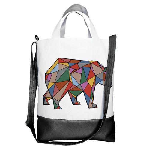 Городская сумка City Медведь из линий (SCB_TFL034_BL)