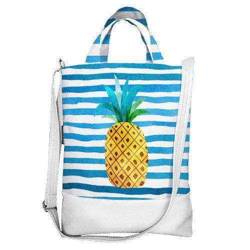 Городская сумка City Ананас (SCB_TRO002_WH)