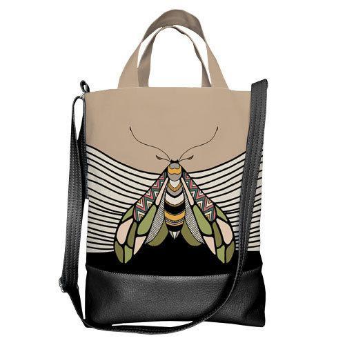 Городская сумка City Насекомое (SCB_TRO023_BL)
