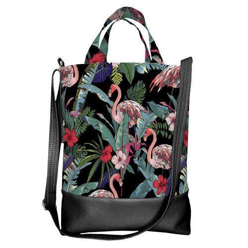 Городская сумка City Фламинго (SCB_TRO025_BL)
