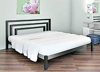 Кровать металлическая BRIO Метакам. Металева кровать Loft