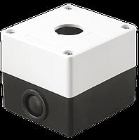 Корпус поста КП101 для кнопок управления 1 место белый, ИЕК [BKP10-1-K01]