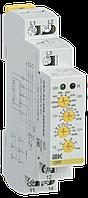 Реле контроля фаз ORF 04 3 фазы 220-460В AC, ИЕК [ORF-04-220-460VAC]
