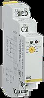 Реле контроля фаз ORF 08 3 фазы 220-460В AC, ИЕК [ORF-08-220-460VAC]