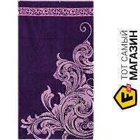 Полотенце Речицкий Текстиль Вензель 67x150см, фиолетовый (4с82.111) душевое (банное)