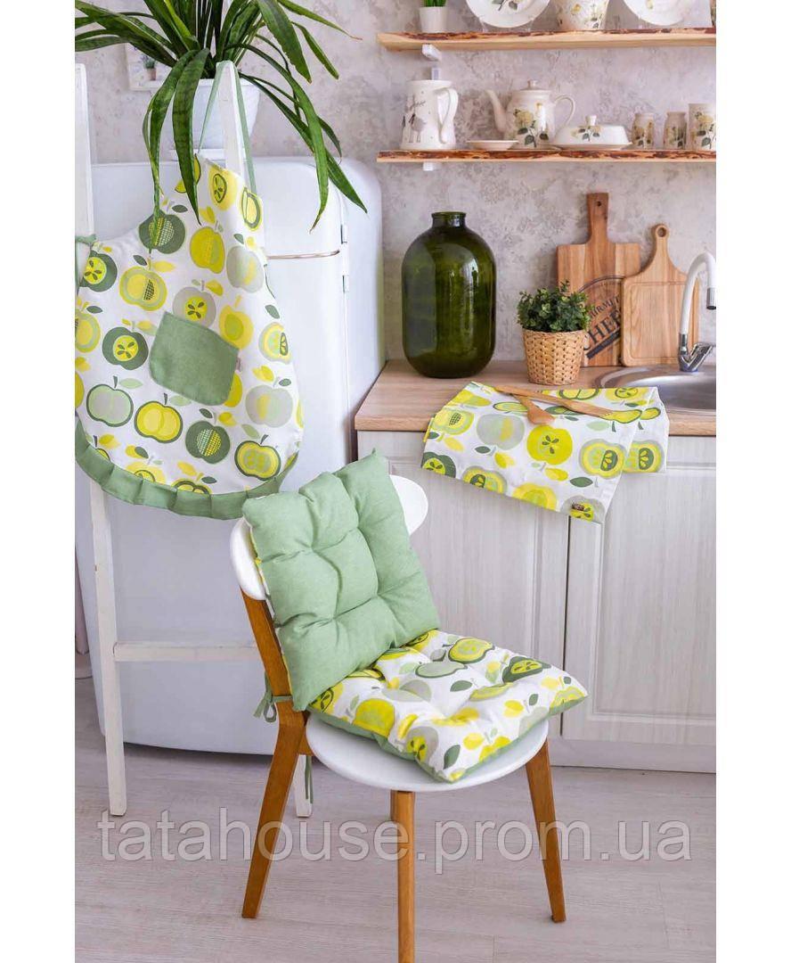 """Подушка на стул """"Яблочки"""", 40х40 см"""