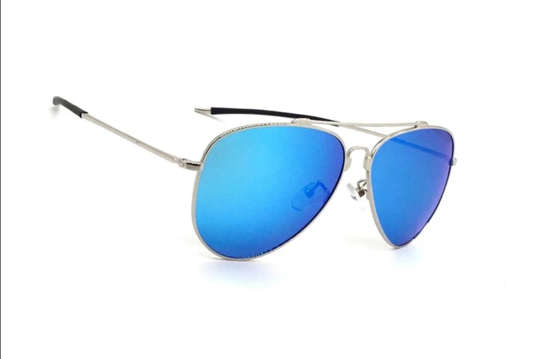 Универсальные солнцезащитные очки. С полароидной линзой, зеркальные.
