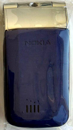 Корпус для Nokia 7510 Supernova Silver&Blue, фото 2