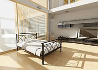 Кровать металлическая DIANA-1 Метакам. Металева кровать Loft